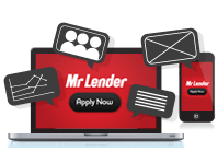 Mr Lender - Payday Loans Marketing Icon