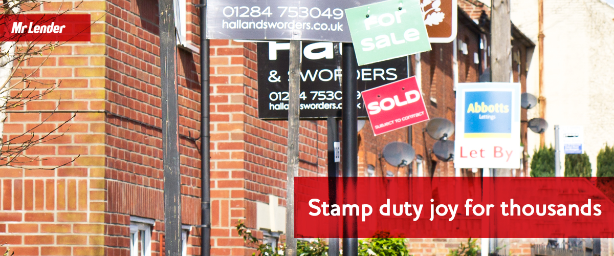 Stamp duty joy for thousands