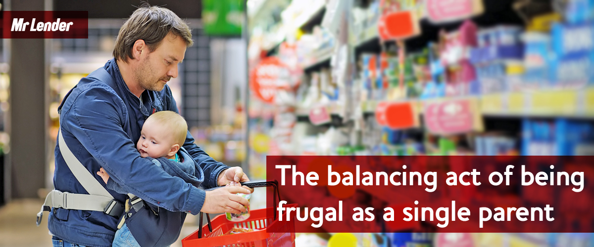 The balancing act of being frugal as a single parent