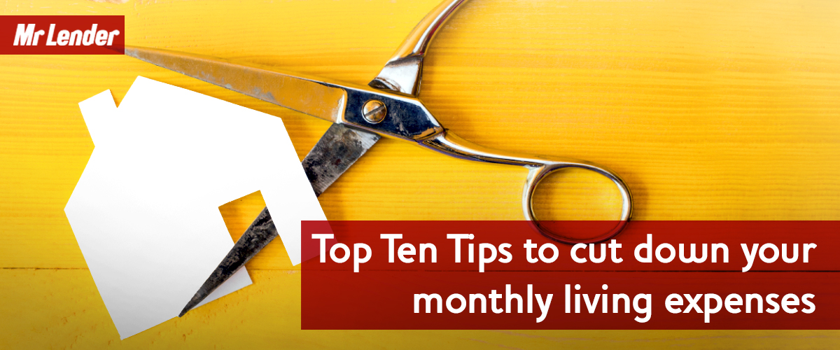 top 10 tips to cut monthly costs