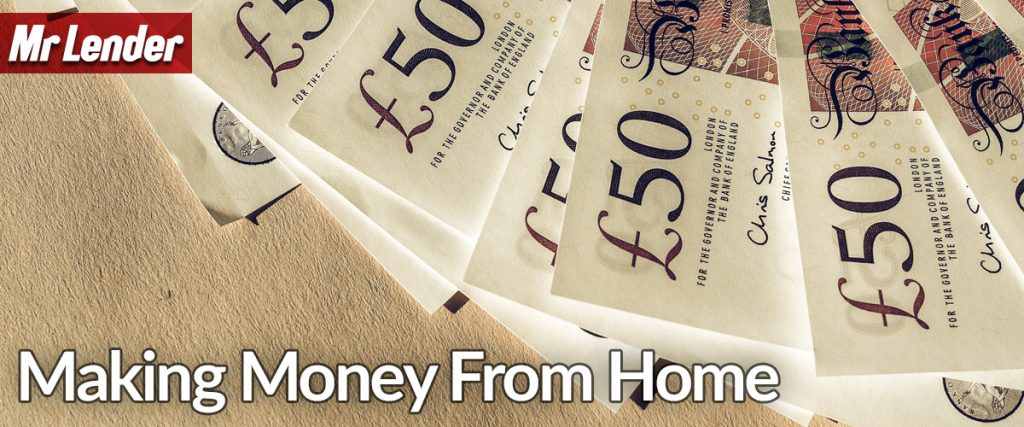 Blog about ways to make money from home