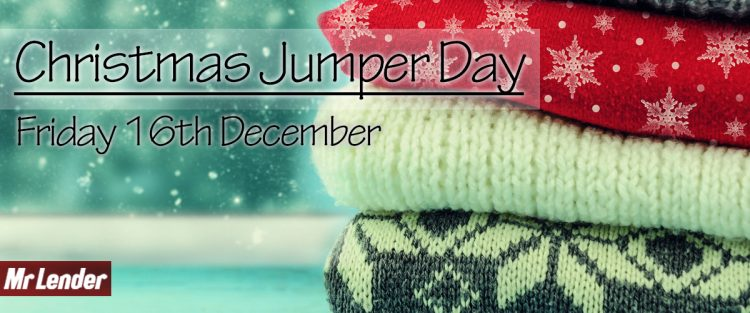 National Christmas Jumper Day by Mr Lender