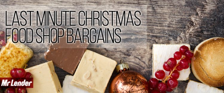 Christmas food supplies - UK bargains