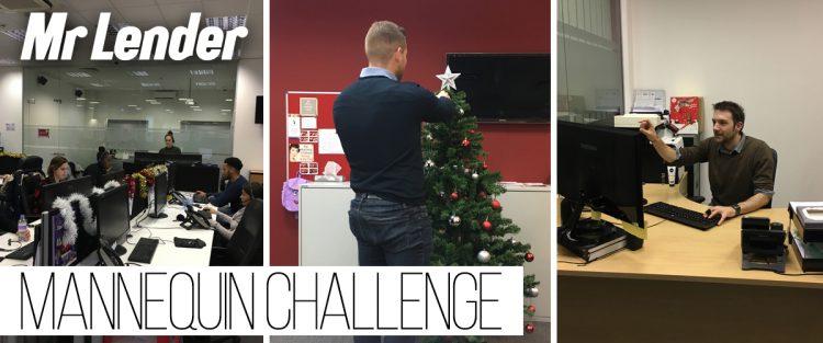 Mr Lender does Mannequin Challenge