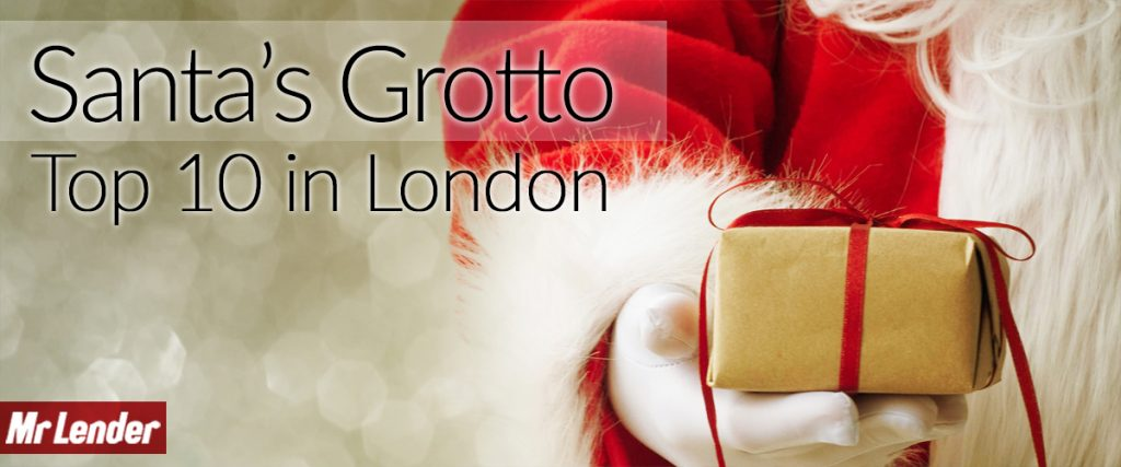 Santa's grottos in london top 10 by Mr Lender