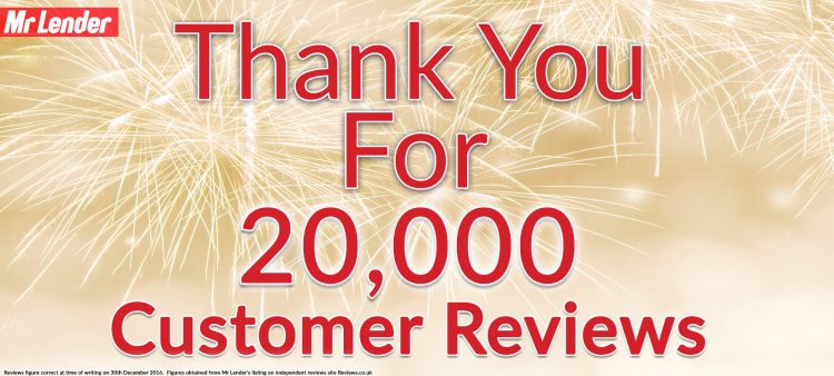 Mr Lender Reaches 20,000 Reviews