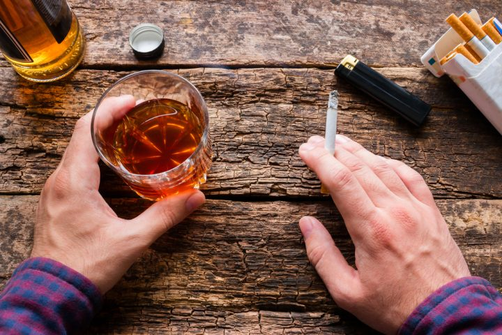 Fall in UK Weekly Spending on Alcohol and Tobacco