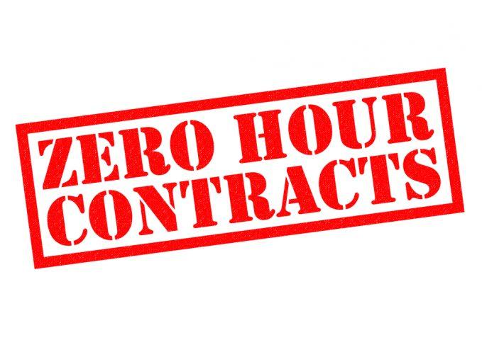 zero hour contracts