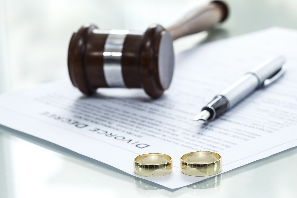 divorce and dissolution