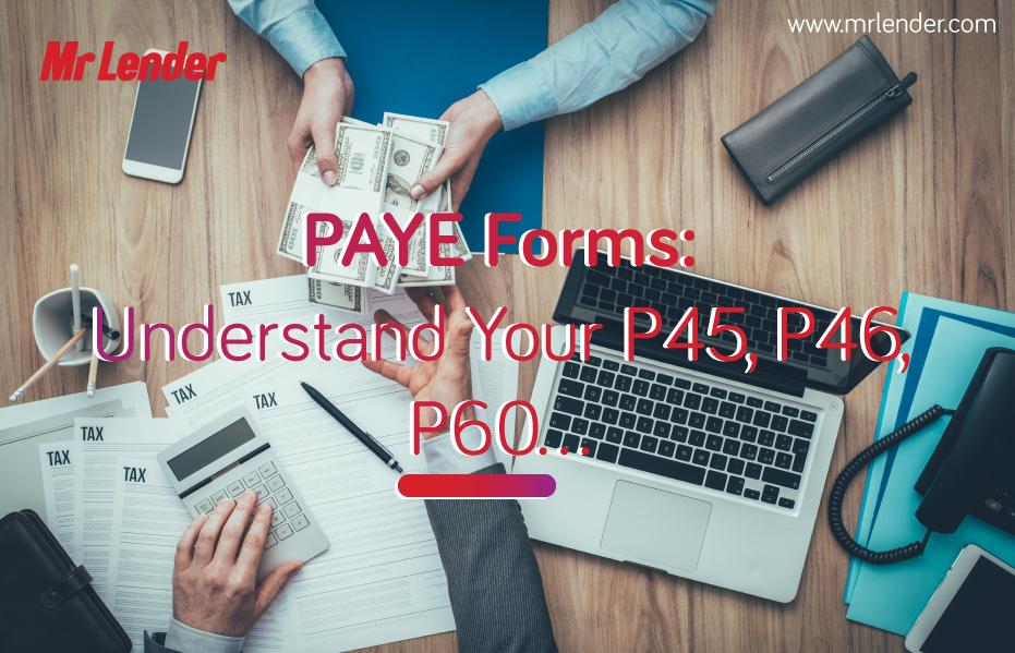 PAYE P60 and P45