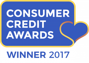 Winner of Customer Service Champion in Consumer Credit Awards