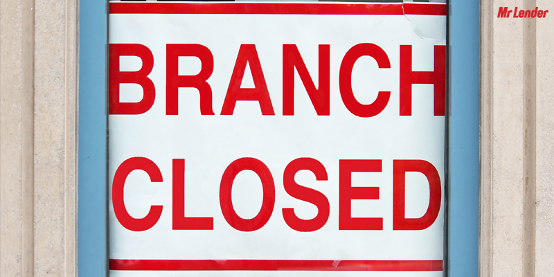 bank branch closures