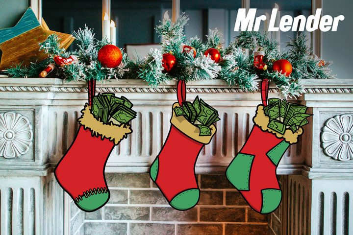 christmas stockings with money