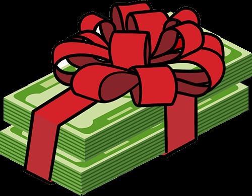 cash present