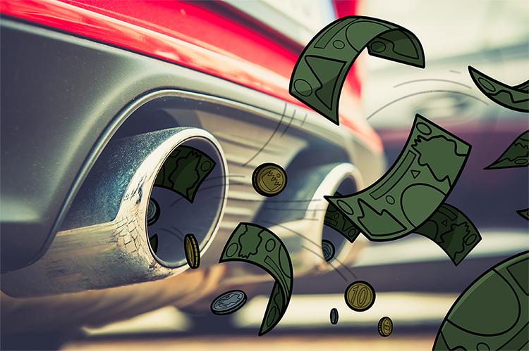 Car petrol money