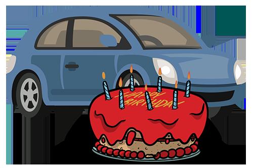 Car birthday