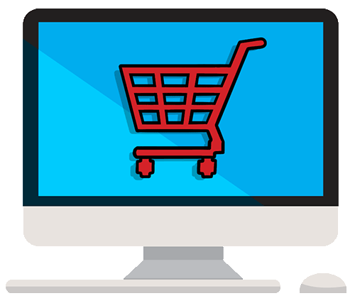 online shopping trolley