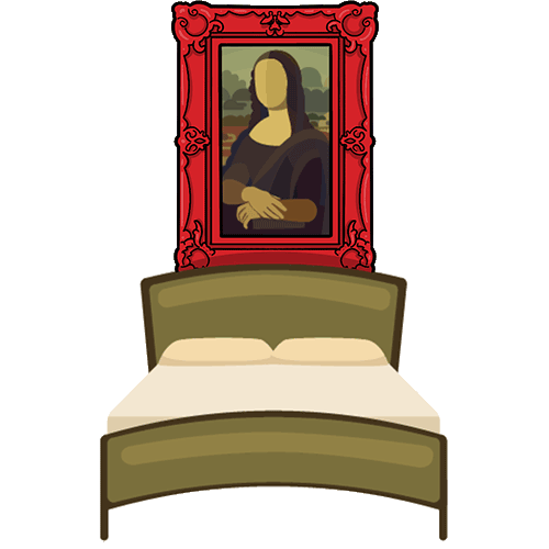 Mona Lisa Bedroom