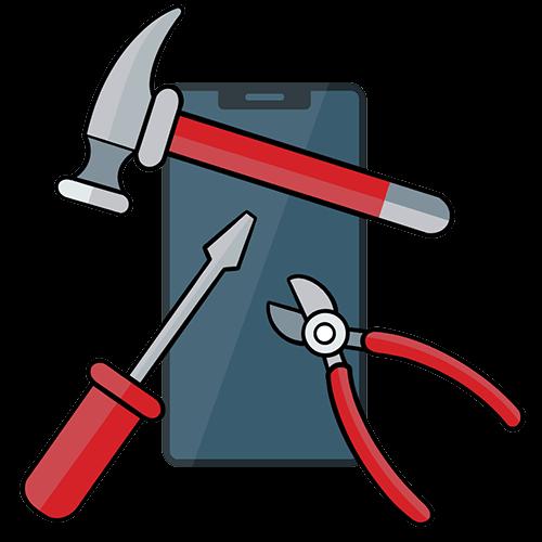 repairing a phone