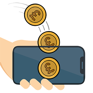 Making money from smartphone